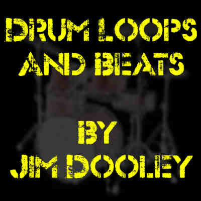 Royalty free drum loops and beats by Jim Dooley