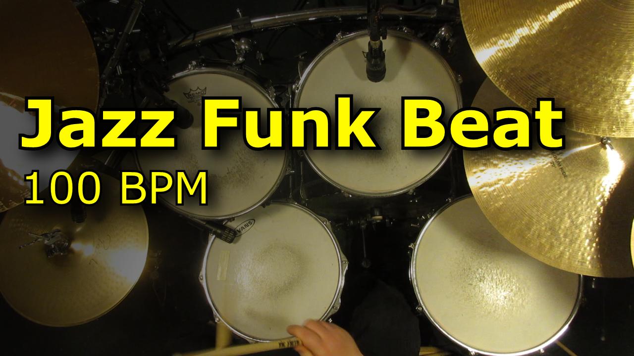 Jazz Funk Beat 100 BPM