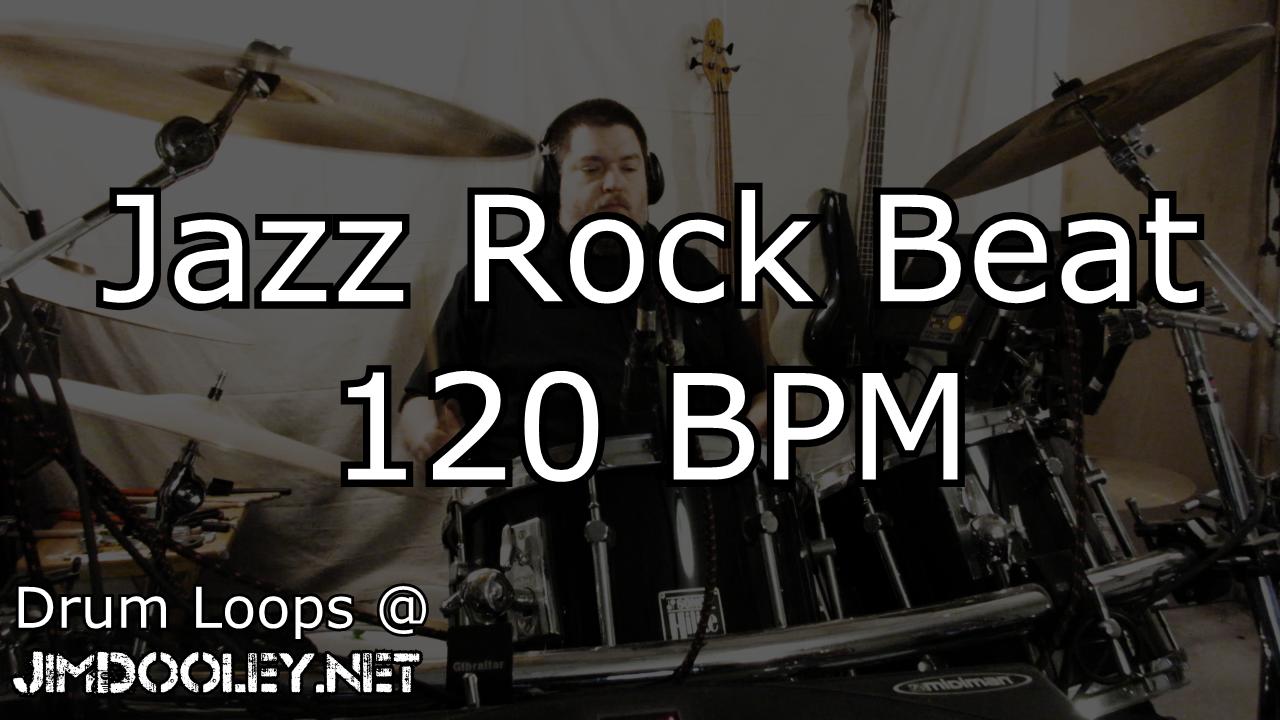 Jazz Rock Drum Loops 120 BPM